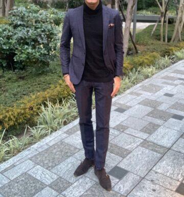 男が婚活ファッションで絶対に持つべきセットアップ6